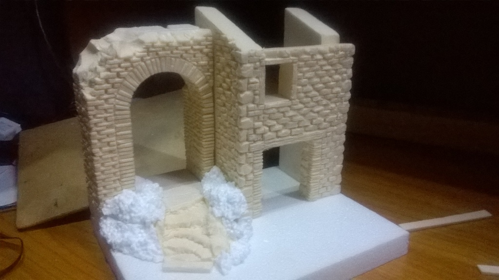 Costruire un piccolo presepe laboratorio presepistico for Finanziamento della costruzione di nuove case