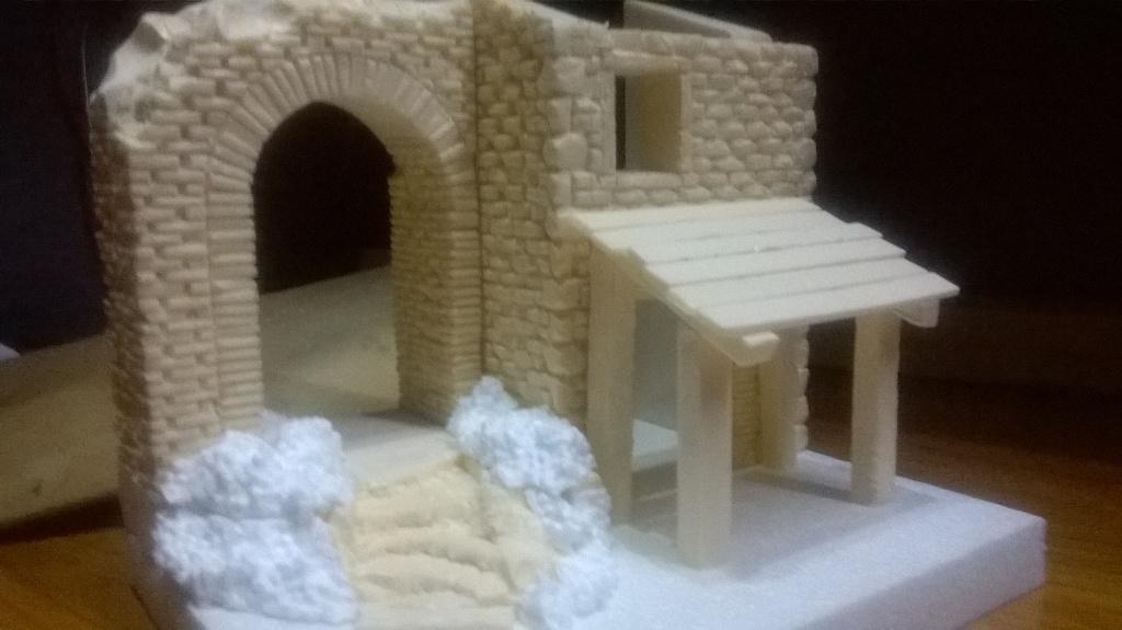 Costruire il presepe in casa cool immagine with costruire for Costruire uno stimatore dei costi della casa